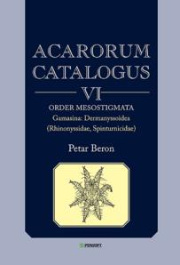 ACARORUM CATALOGUS VI. Order Mesostigmata. ...